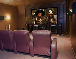 Basic Home Theater Set Up